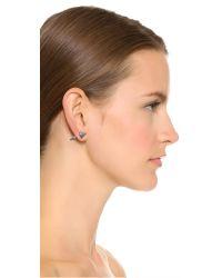 Eddie Borgo | Metallic Cone Stud Earrings | Lyst