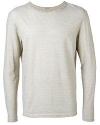 Massimo Alba - Gray Long Sleeve T-shirt for Men - Lyst
