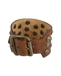 Frye | Brown Stud Cuff | Lyst