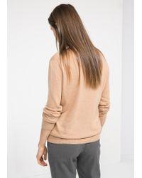 Mango | Natural Alpacablend Sweater | Lyst