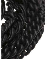 Julius - Black Multi Chain Necklace for Men - Lyst