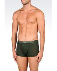 Emporio Armani | Green Boxers for Men | Lyst