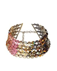 Jil Sander | Multicolor New Season - Womens Candy Bead Choker | Lyst