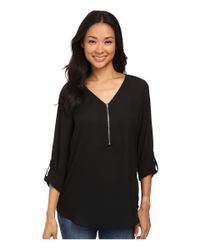 Brigitte Bailey - Black Rachel Blouse - Lyst