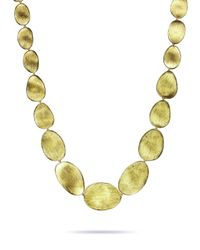 Marco Bicego - Natural Lunaria 18k Small Collar Necklace - Lyst