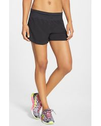 Asics | Black 'cleo Pop' Shorts | Lyst