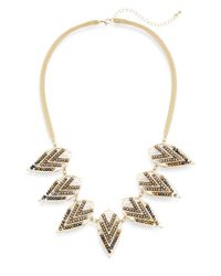 Saks Fifth Avenue | Metallic Arrow Collar Necklace | Lyst