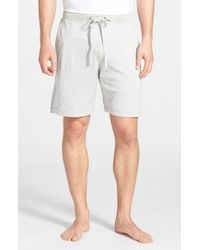 Daniel Buchler | Gray Silk & Cotton Lounge Shorts for Men | Lyst