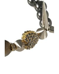 Electric Picks - Metallic 'Heart Break' Bracelet - Lyst