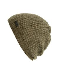John Varvatos - Natural Wool Blend Beanie for Men - Lyst