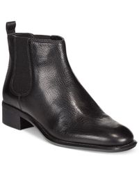 Nine West | Black Jara Booties | Lyst