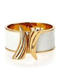 Rachel Zoe | Metallic Gold-Plated Safari Horn Bracelet | Lyst