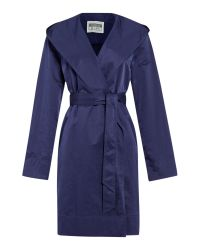 Cloud Nine | Blue Lightweight Hooded Wrap Jacket | Lyst