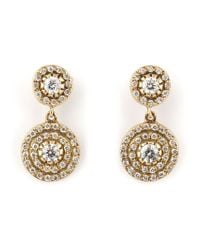 Ileana Makri | Metallic Double 'solitaire' Diamond Earrings | Lyst