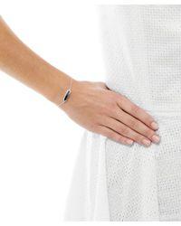 Monica Vinader - Metallic Mini Silver Hematite Baja Bracelet - Lyst