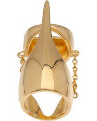 Eddie Borgo - Metallic Pharaoh Ring - Lyst