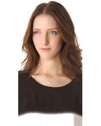 Gorjana | Metallic Taner Bar Necklace - Silver | Lyst