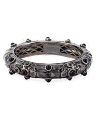 DSquared² - Gray Embellished Bangle - Lyst