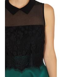 Coast | Black Lisabet Lace Top | Lyst