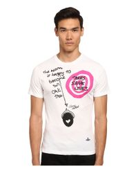 Vivienne Westwood | White Acorn T-shirt for Men | Lyst