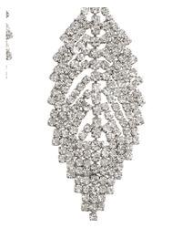 H&M | Metallic Leaf-shaped Earrings | Lyst