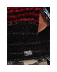 Denim & Supply Ralph Lauren - Red Patterned Hooded Sweater for Men - Lyst