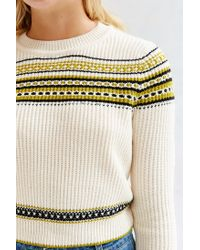 BDG - Multicolor Alyeska Crew Neck Sweater - Lyst