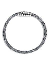 David Yurman | Chevron Bracelet In Gray for Men | Lyst