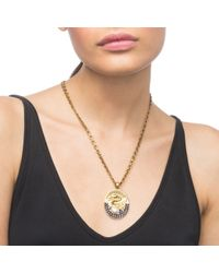 Lulu Frost | Metallic Lake Medallion Necklace | Lyst