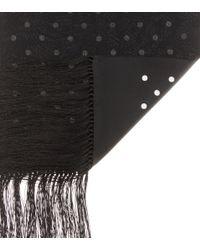 Haider Ackermann - Black Printed Silk Scarf - Lyst