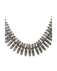 Natalie B. Jewelry | Metallic Rani Necklace | Lyst