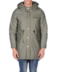 Cheap Monday - Green Coat for Men - Lyst