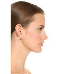 Shashi | Pink Double Earrings | Lyst
