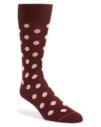 Paul Smith   Black 'maxi' Dot Socks for Men   Lyst