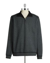 Tommy Bahama - Blue Reversible Zip-up Pullover for Men - Lyst