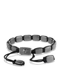 David Yurman - Metallic Sky Large Tile Bracelet for Men - Lyst
