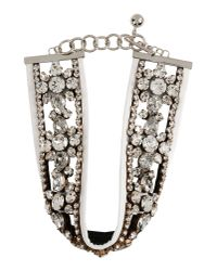Shourouk | White Necklace | Lyst