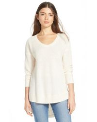 Madewell - Natural 'Ariel' Pullover - Lyst