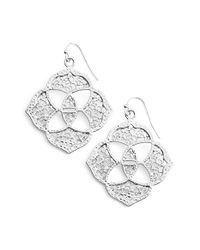 Kendra Scott | Metallic 'dawn' Logo Drop Earrings | Lyst