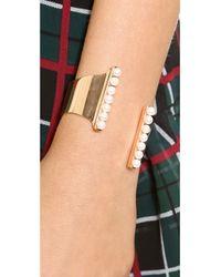Vita Fede - Metallic Lia Bracelet - Rose Gold/Pearl - Lyst