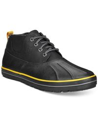 Sperry Top-Sider - Black Top-sider Fowl Weatherproof Duck Boot for Men - Lyst