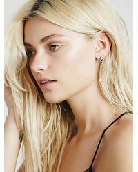 Free People - Metallic Arrow Divine Womens Lunar Eclipse Earring - Lyst