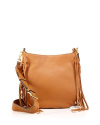 Rebecca Minkoff - Brown Heavy Laced Fringed Leather Hobo Bag - Lyst
