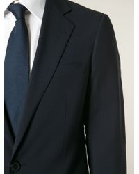 Giorgio Armani - Blue Slim Fit Suit for Men - Lyst