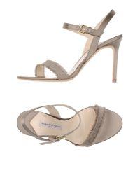 Roberto Festa | Gray Sandals | Lyst