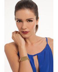 Trina Turk | Metallic Metal I.d. Flex Bracelet | Lyst