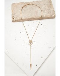 Forever 21 | Pink -inspired Drop Necklace | Lyst