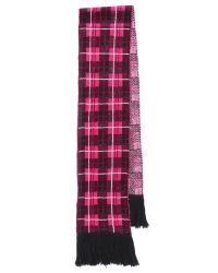 kate spade new york - Pink Woodland Plaid Scarf - Lyst