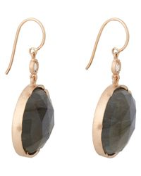 Irene Neuwirth | Pink Women's Gemstone Double-drop Earrings | Lyst