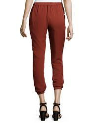 Haute Hippie - Red New Slim Shady Jogger Pants - Lyst